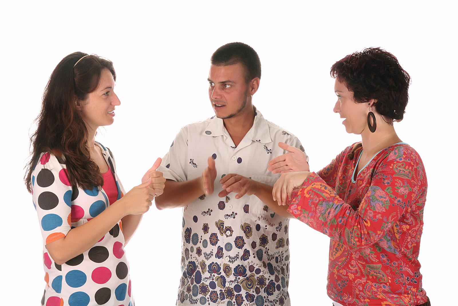 знакомство с глухими людьми