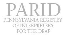 PA Affiliate Chapter of RID
